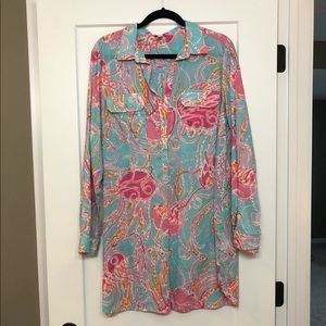 Lilly Pulitzer Tunic/Swim Cover Up